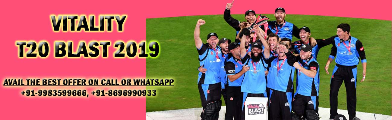 vitality t20 blast 2019 prediction